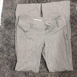 Dynamite grey flare pin stripe dress pants size 3